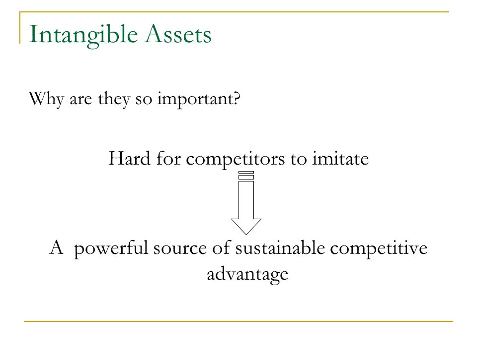 Intangible Assets Why are they so important.