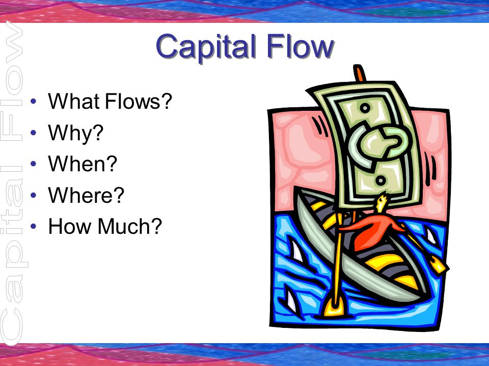 Capital Flow What Flows? Why? When? Where? How Much?