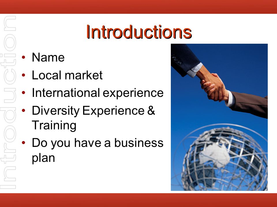 Globalization Chapter 1