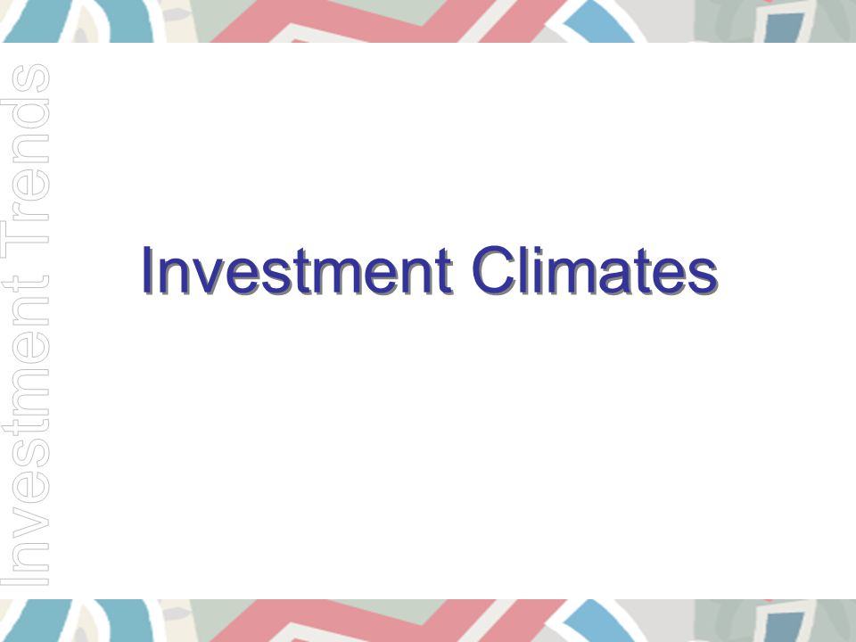 Investment Climates