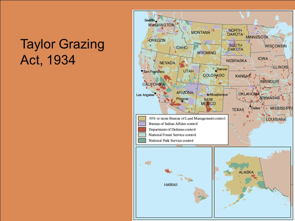 Taylor Grazing Act, 1934