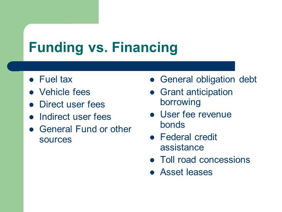 Funding vs.