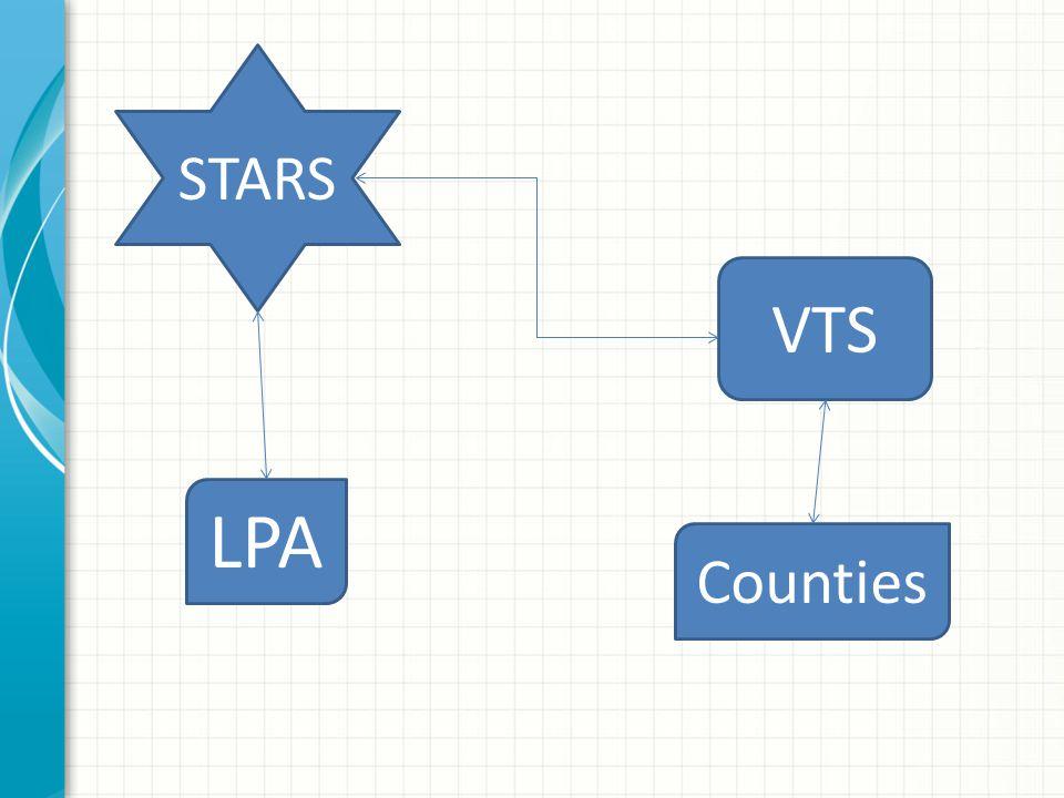 STARS VTS LPA Counties