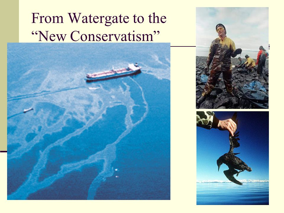 From Watergate to the New Conservatism