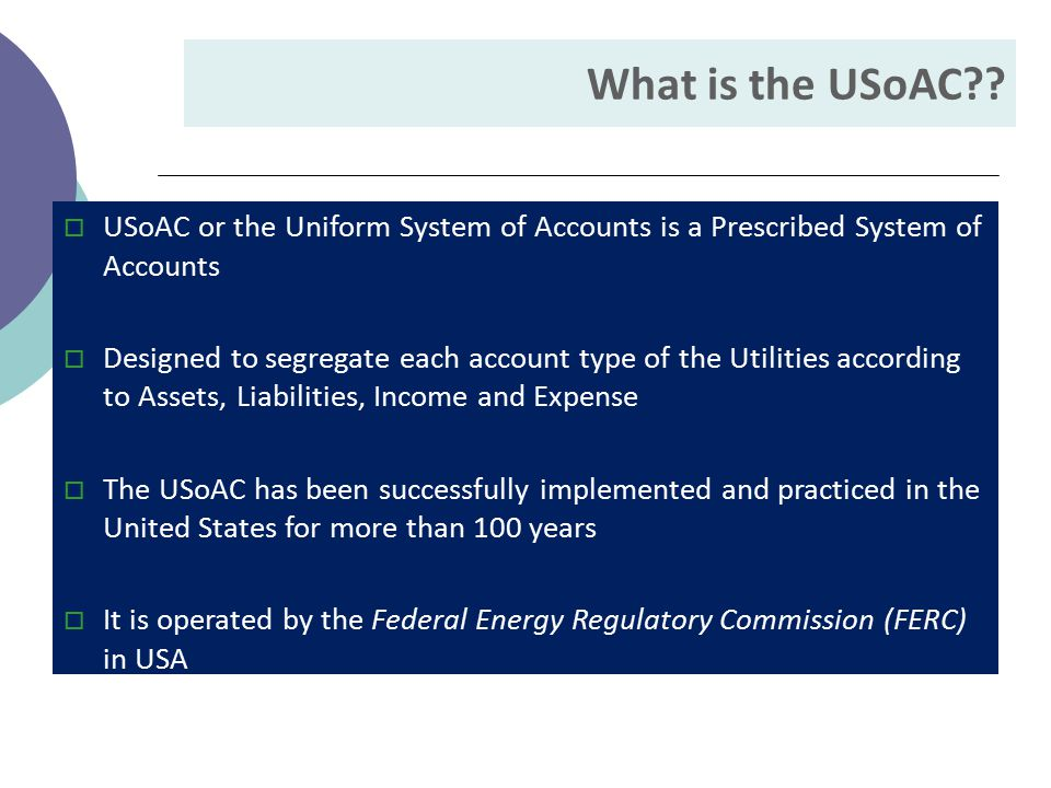 What is the USoAC?.
