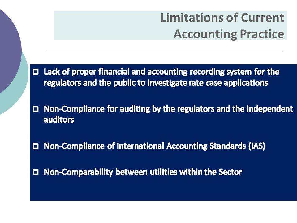 Limitations of Current Accounting Practice