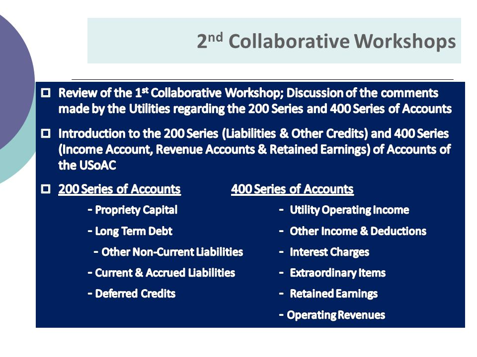 2 nd Collaborative Workshops