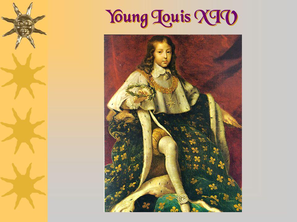 Young Louis XIV