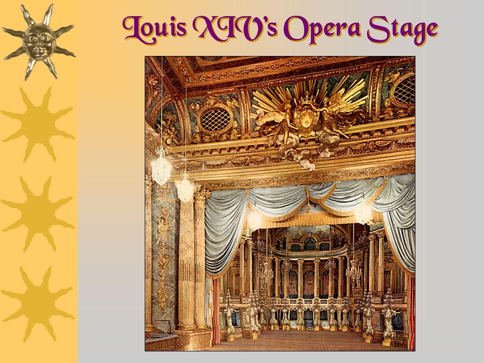 Louis XIV's Opera Stage