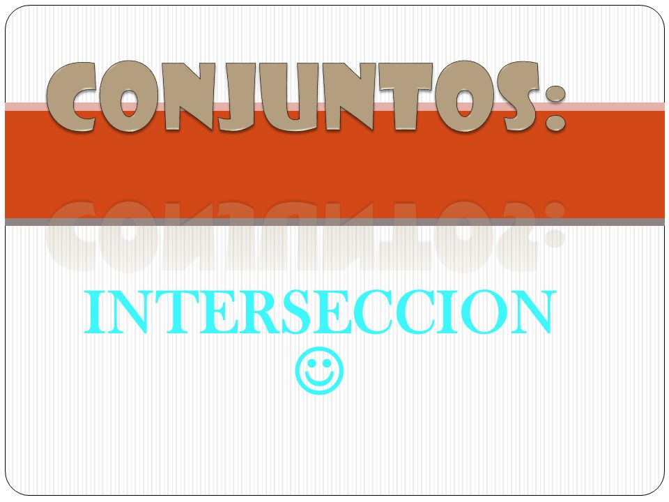INTERSECCION