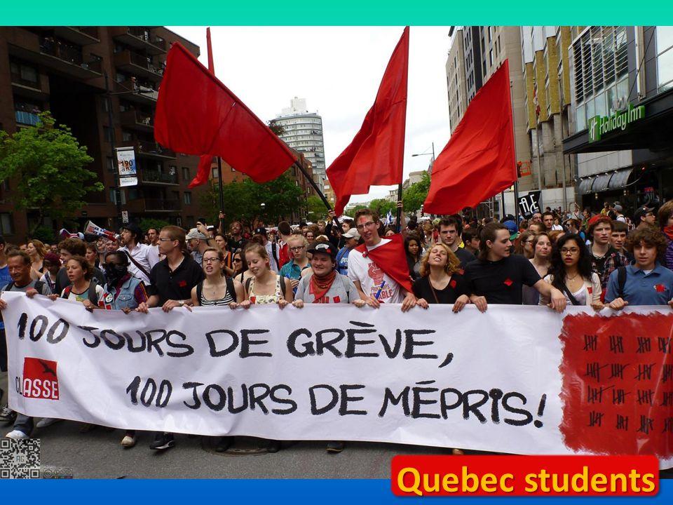 Quebec students