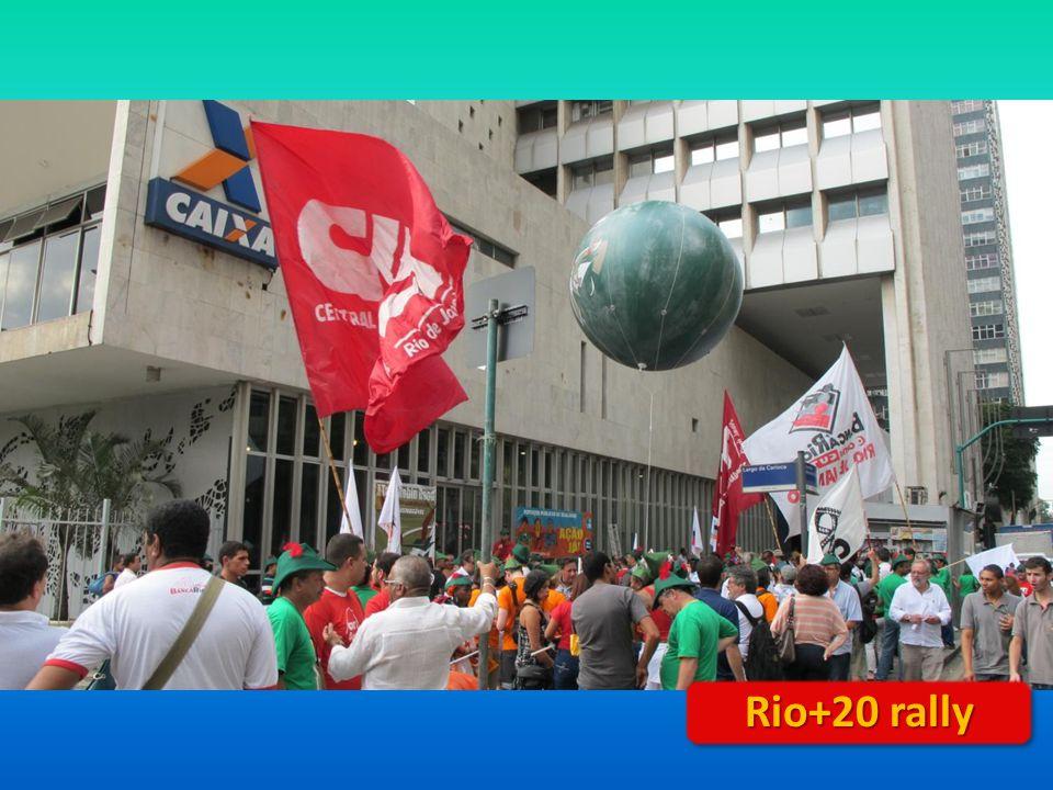 Rio+20 rally