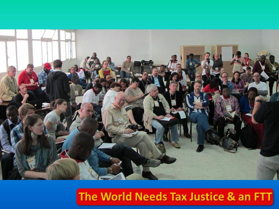 The World Needs Tax Justice & an FTT