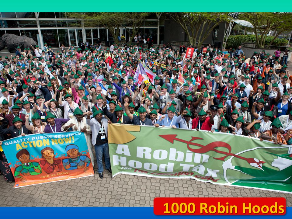 1000 Robin Hoods