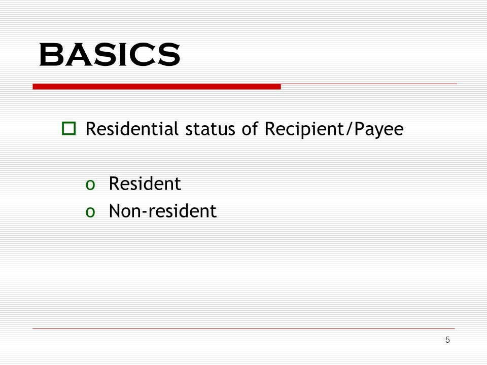 6 BASICS  Nature of expenditure oIn the hands of the deductor – payment / Debit may be towards  Capital Expenditure  Revenue Expenditure  Reimbursement of Expenses