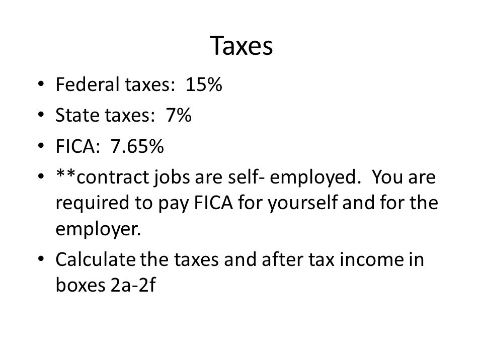 2 g - Question to answer Based on this new information and the after tax income levels, which job will you now take and why?