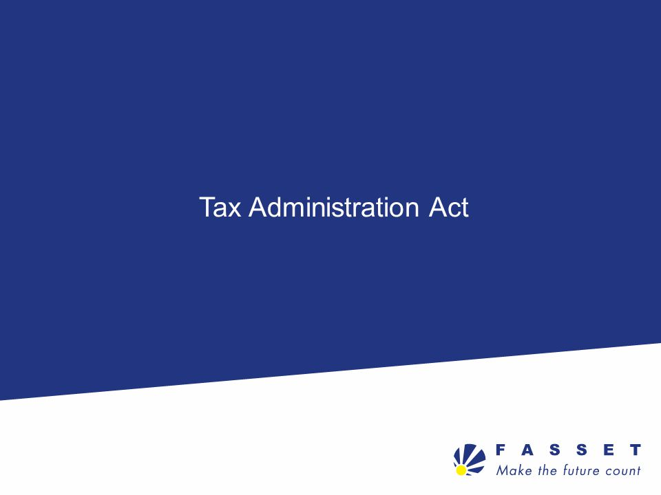 Tax Administration Act