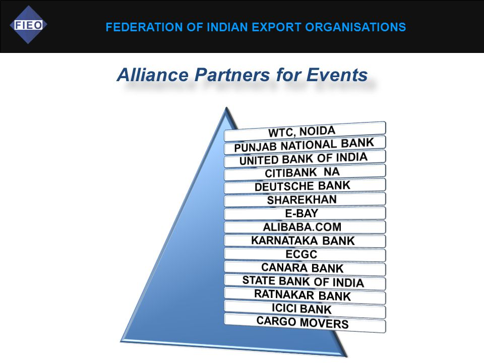 FEDERATION OF INDIAN EXPORT ORGANISATIONS Alliance Partners for Events