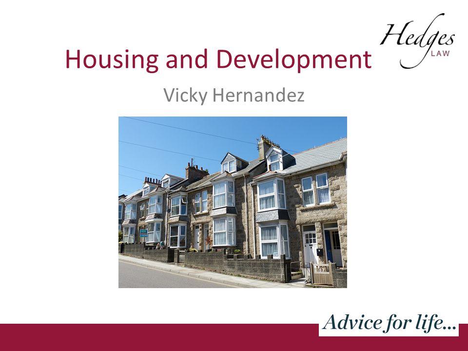 Housing and Development Vicky Hernandez