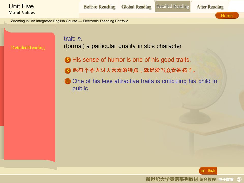 Detailed Reading_ trait Detailed Reading trait: n.
