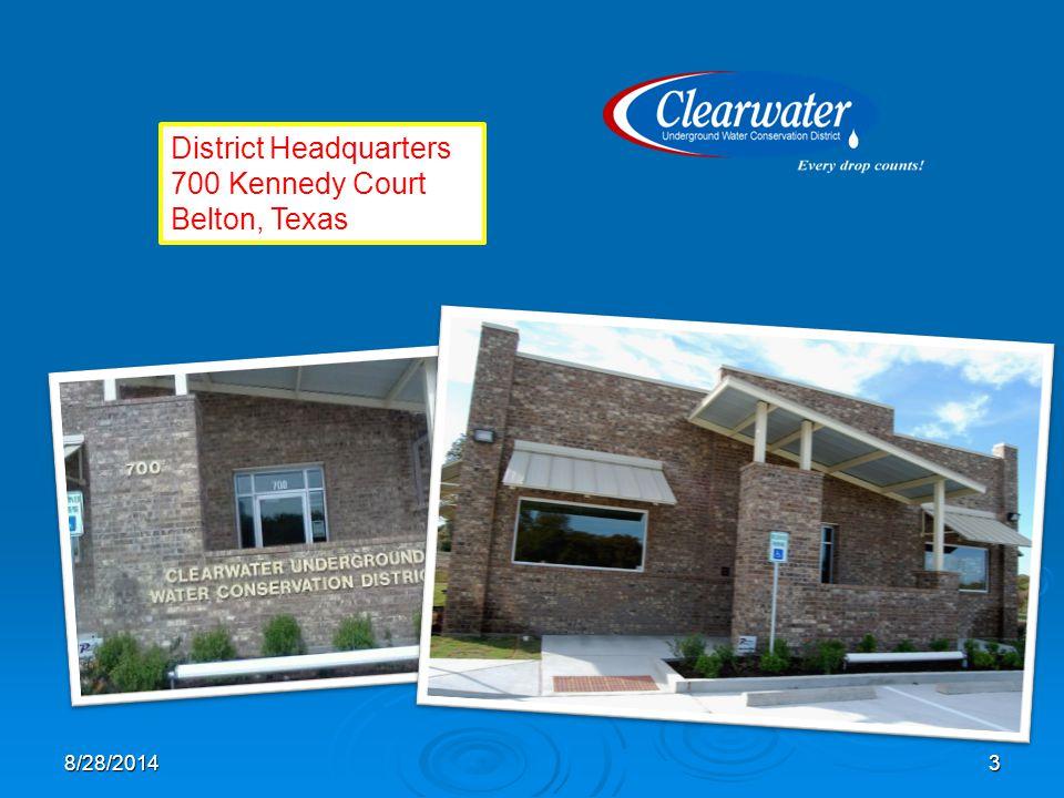 District Headquarters 700 Kennedy Court Belton, Texas 38/28/2014