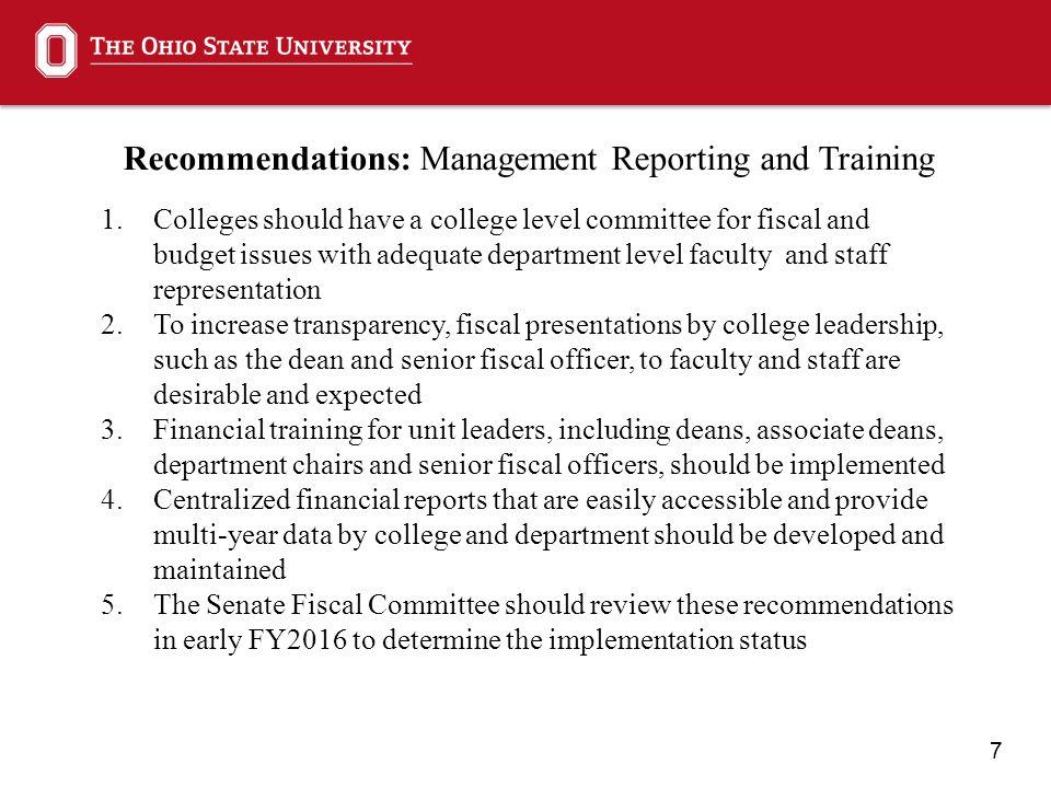 8 OSU Budget and Budget Model: Background