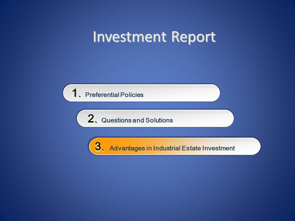 Investment Report Investment Report
