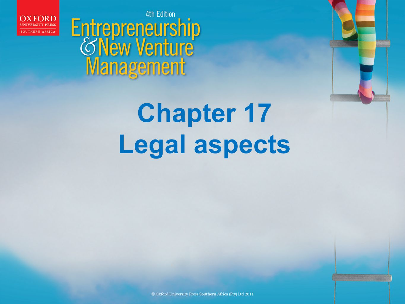 Chapter 17 Legal aspects