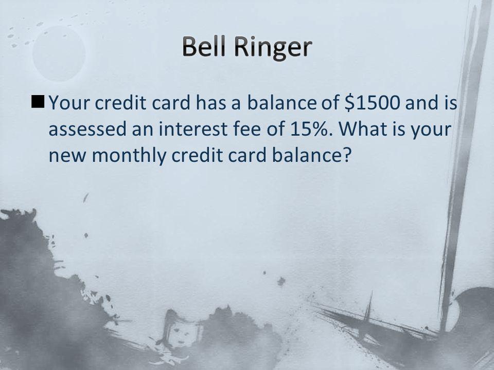 $1500 * 15% =