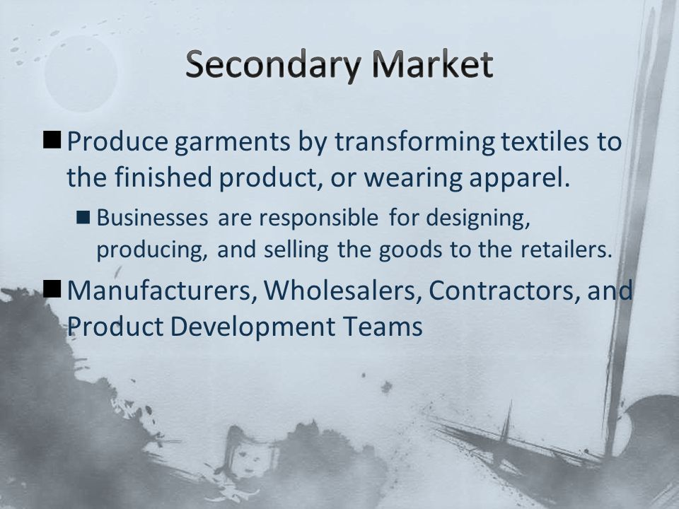 Produce garments by transforming textiles to the finished product, or wearing apparel. Businesses are responsible for designing, producing, and sellin
