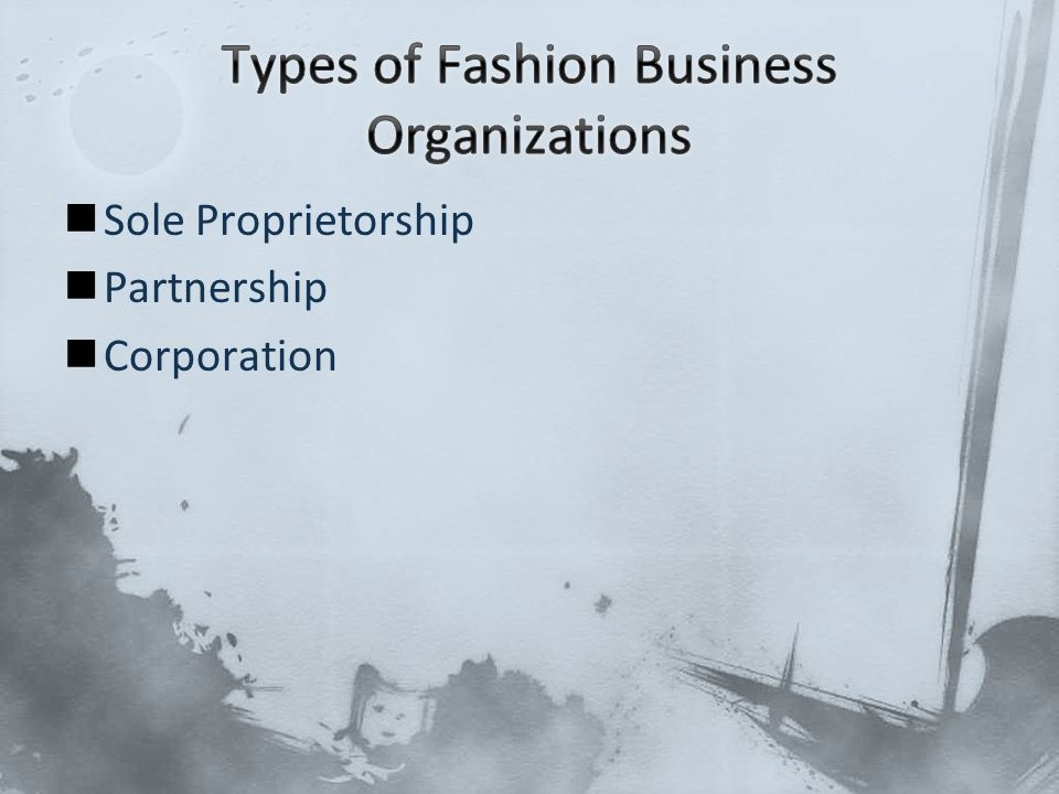 Sole Proprietorship Partnership Corporation