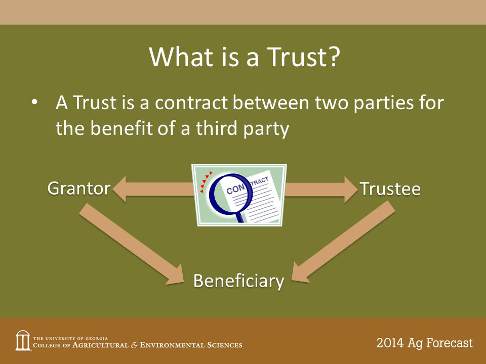 What is a Trust.