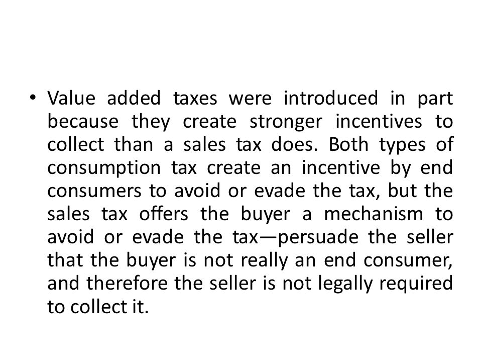 Objects of Taxation Objects of taxation with respect to the value- added tax shall be: taxable transactions and taxable imports