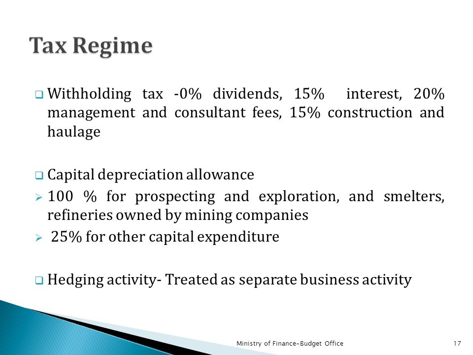Enhanced transparency and broad participation in the management of revenues from mineral resources will deliver:  Improved governance  Increased equitable and pro-poor expenditure  Reduced risk of potential of internal conflict or misunderstanding  Improved domestic resource mobilization 18Ministry of Finance-Budget Office