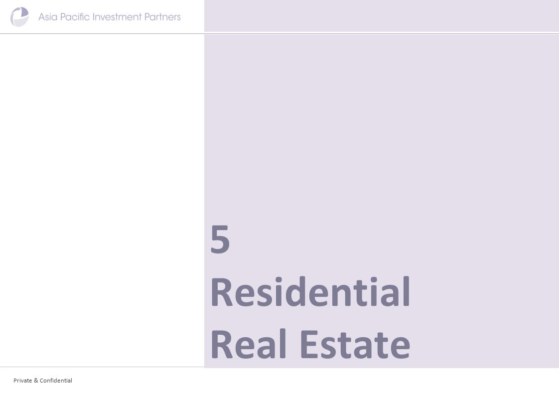 Private & Confidential 5 Residential Real Estate