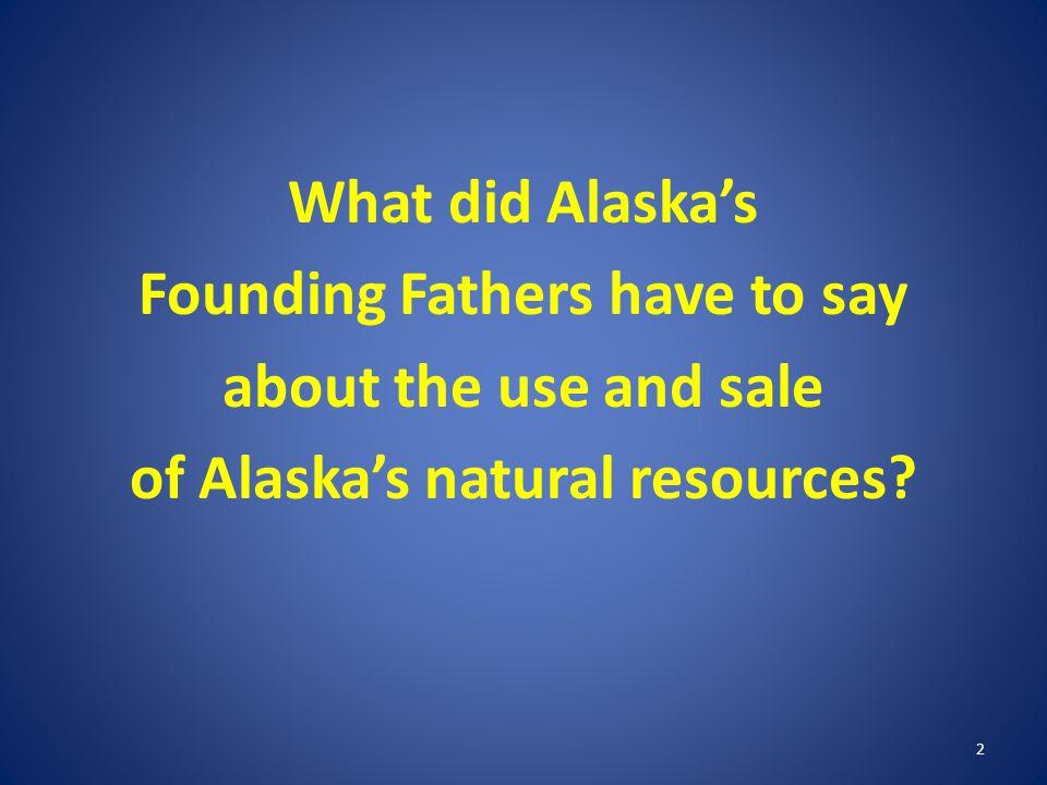 Alaska Profits vs.