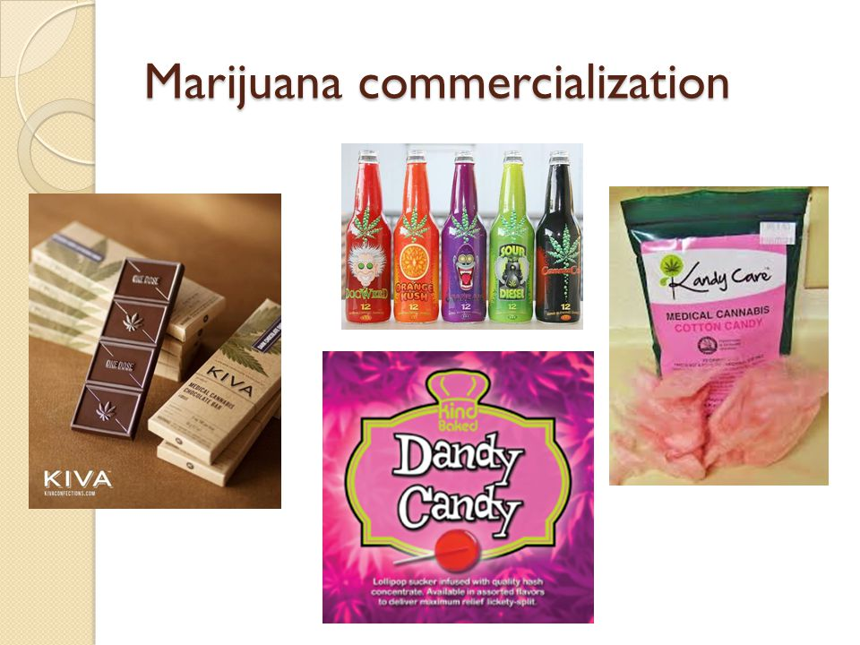 Marijuana commercialization