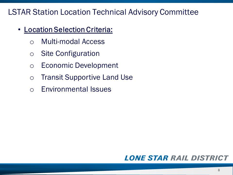 LSTAR Planning Targets Initial Base Full Psgr.