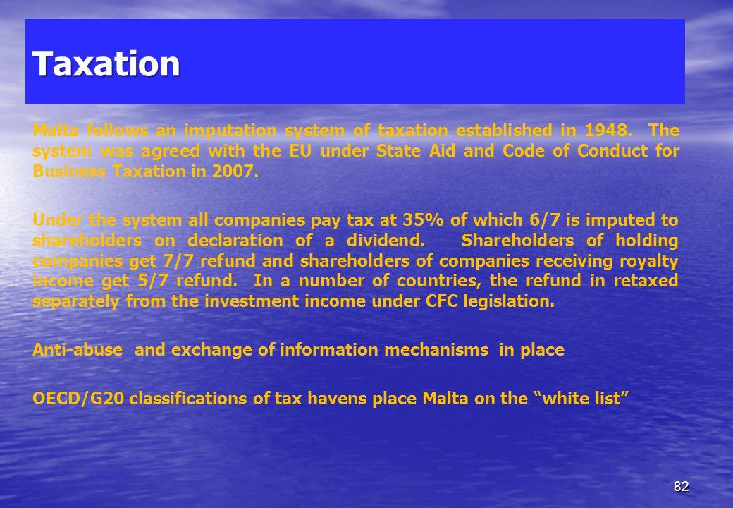 Malta and the EU Taxation 81