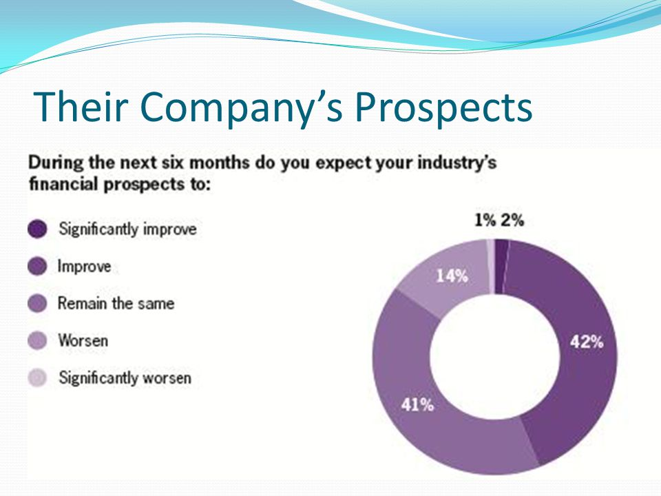 Their Company's Prospects