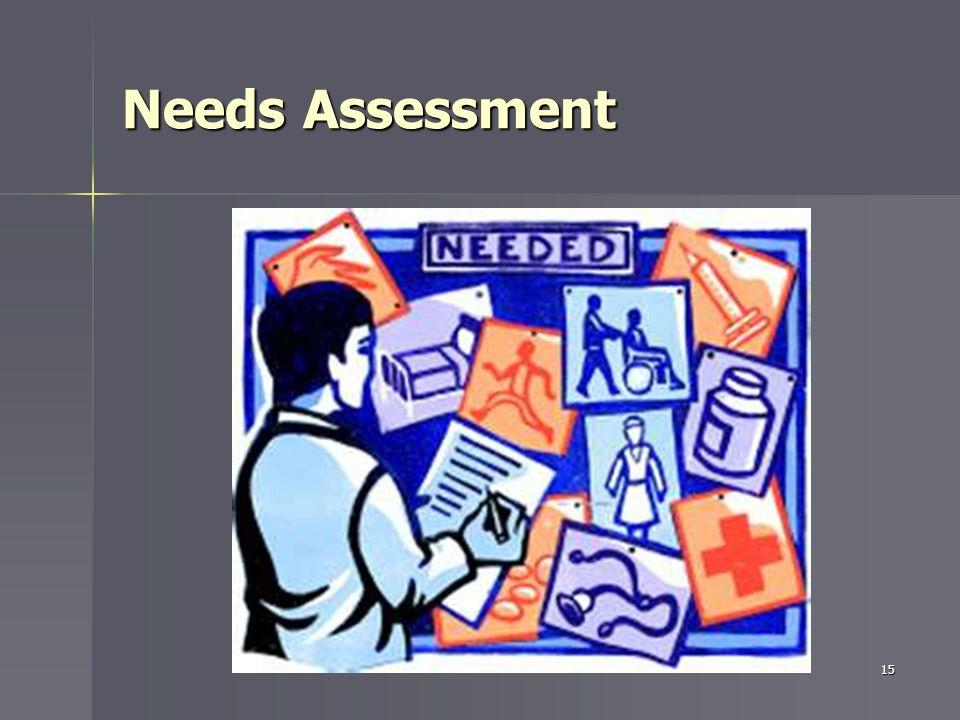 Needs Assessment 15