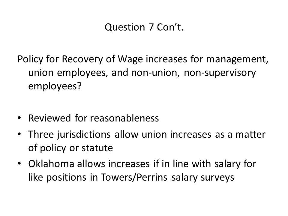 Question 7 Con't.