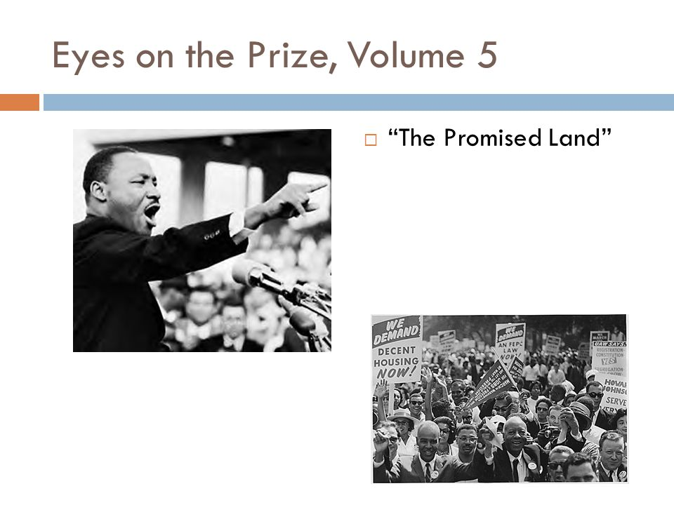 Eyes on the Prize, Volume 5  The Promised Land