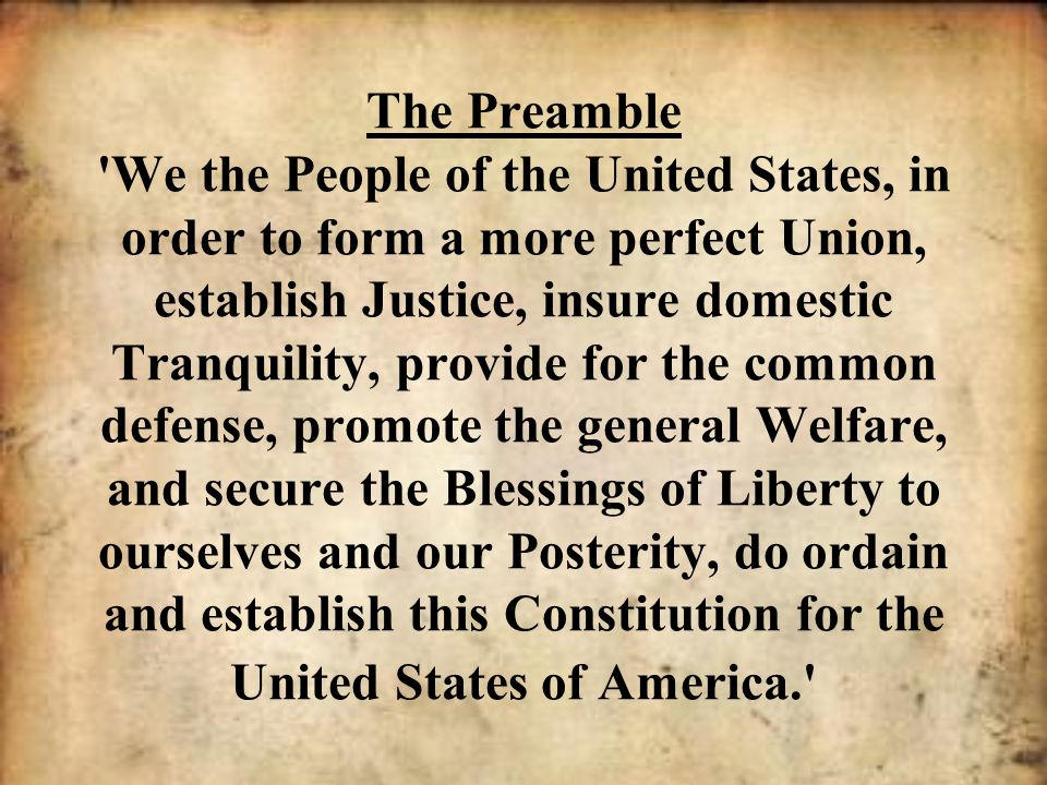 The Preamble!!! on emaze