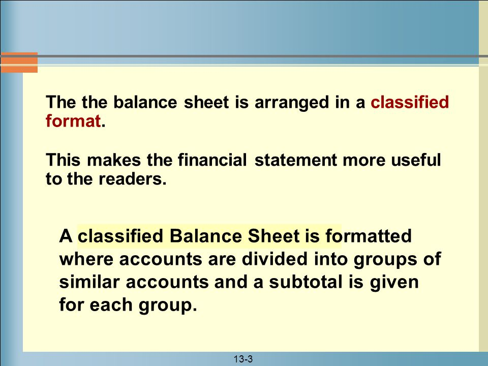 13-4 The Multiple-Step Income Statement A multiple-step income statement is a type of income statement on which several subtotals are computed before the net income is calculated.