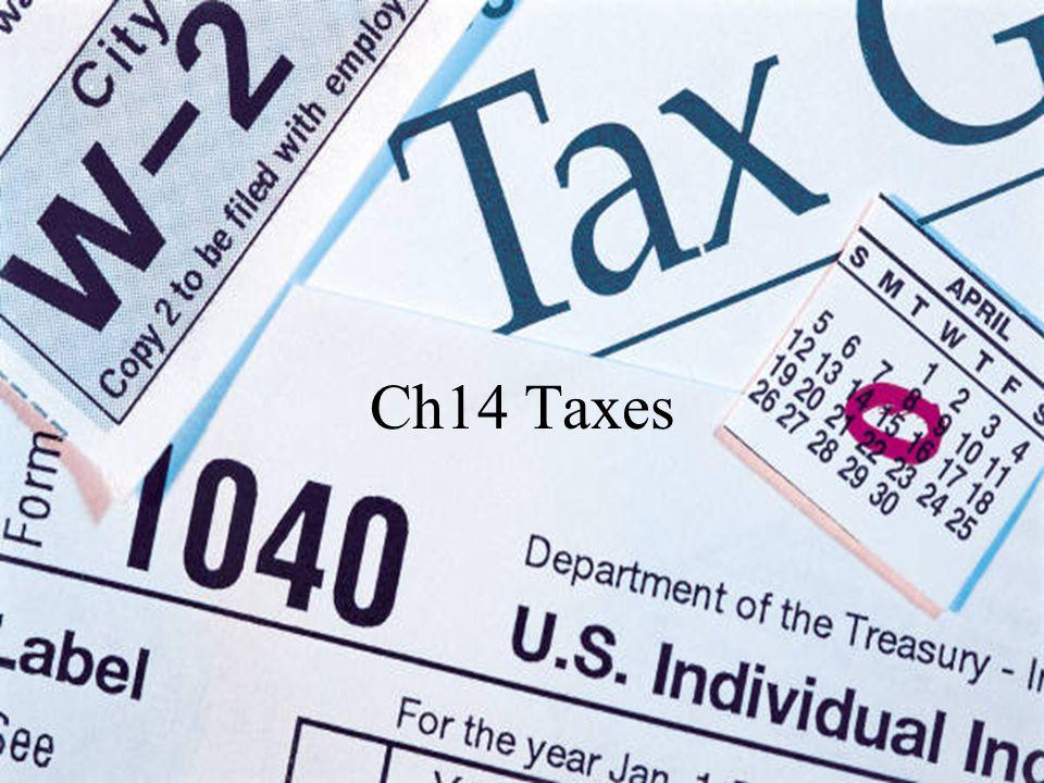 Ch14 Taxes