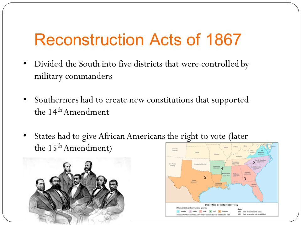 3.Was Reconstruction successful? Explain.