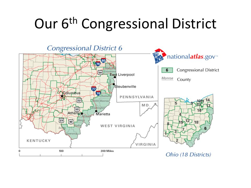 Our 6 th Congressional District