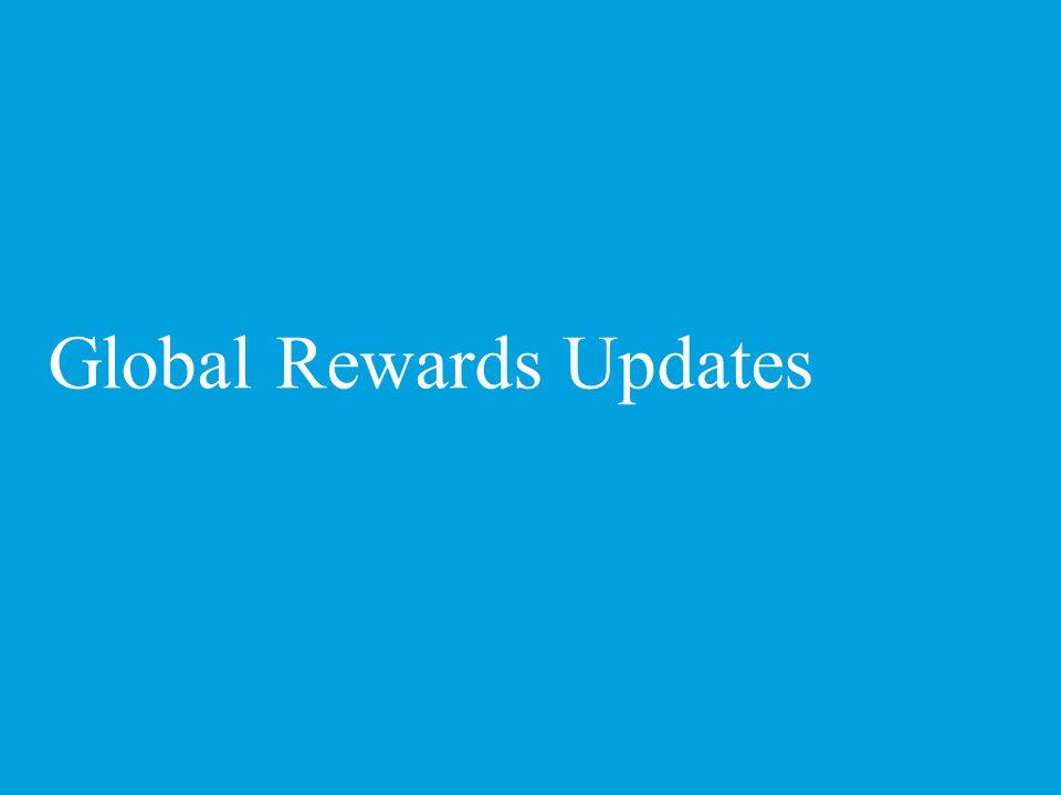 Global Rewards Updates