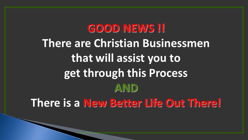 GOOD NEWS !.